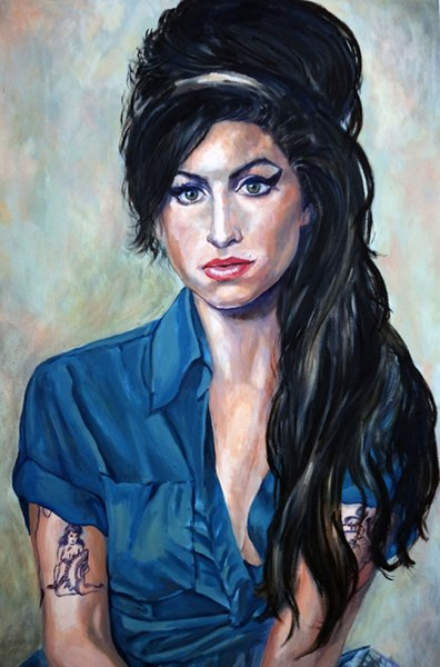 Amy Winehouse by Miche Watkins