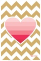 Trendy poster featuring a gorgeous pink ombre heart and gold chevron background by The Rabbit And The Robin. This would look so awesome in a white frame! You can get it through Hello Pretty | via https://hellopretty.co.za/rabbit-and-robin/word-art-i-carry-your-heart-0007ph4x6