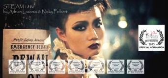 Steam 1886, fashion short film directed by Adrian Lazarus and Nicky Felbert, nominated by Bianca Resnekov.