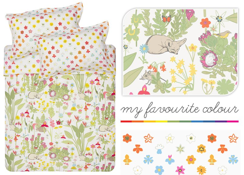 Meadow Duvet by Frances White for Mr Price Home