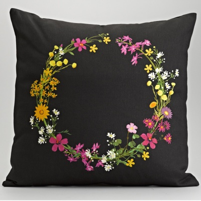 Tsitsikamma Wreath Cushion by Frances White