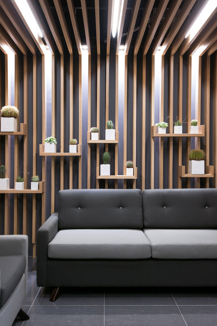 Regent Insurance Flagship Office - Waiting Area Wall