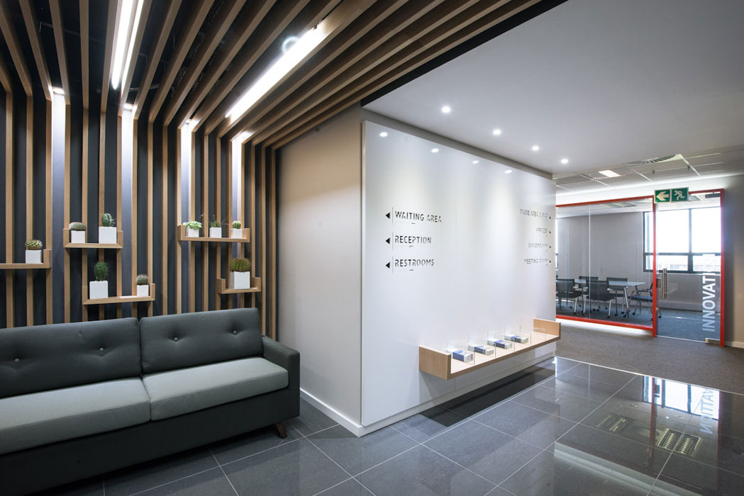 Office Wall Treatment Interiors