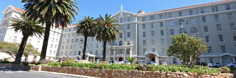 Groote Schuur Hospital in Cape Town, South Africa | image via http://www.cput.ac.za/about/visit/groote-schuur-hospital