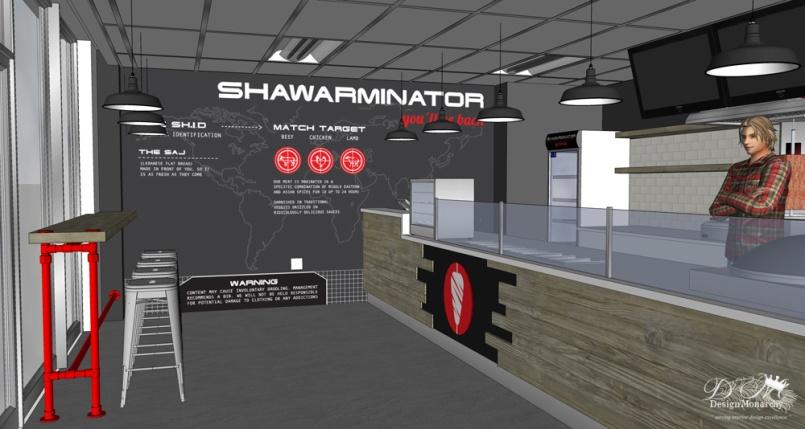 Shawarminator - 3D