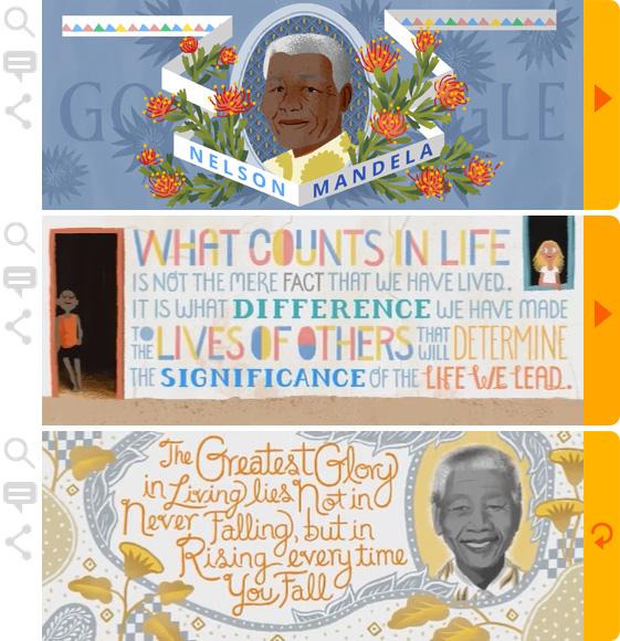 Google Doodle - Mandela-Day-2014