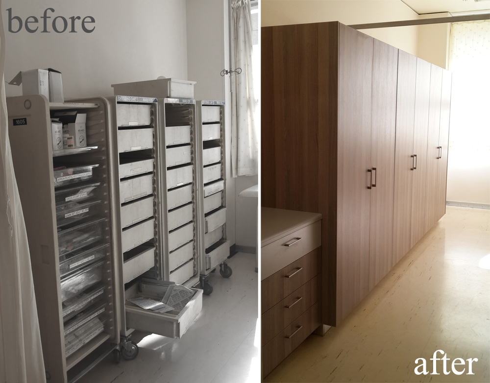 Medical Storage Room Groote Schuur Ward Wakeover The Design Tabloid