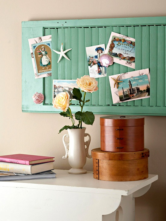 Quick Tip 33 Shutters Turned Wall Organizer The Design