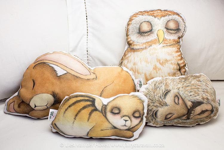 Animal Pillow Friends - Fairy Caravan