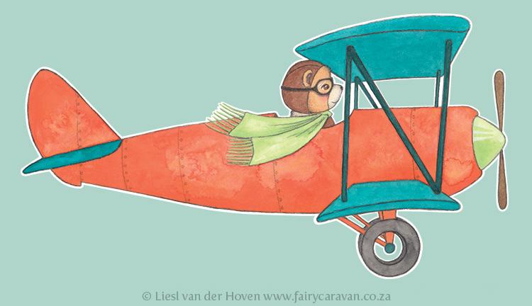 Aviator Bear - Fairy Caravan