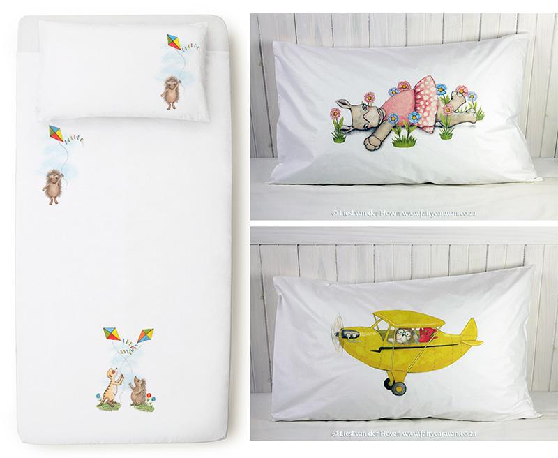 Bedding - Fairy Caravan