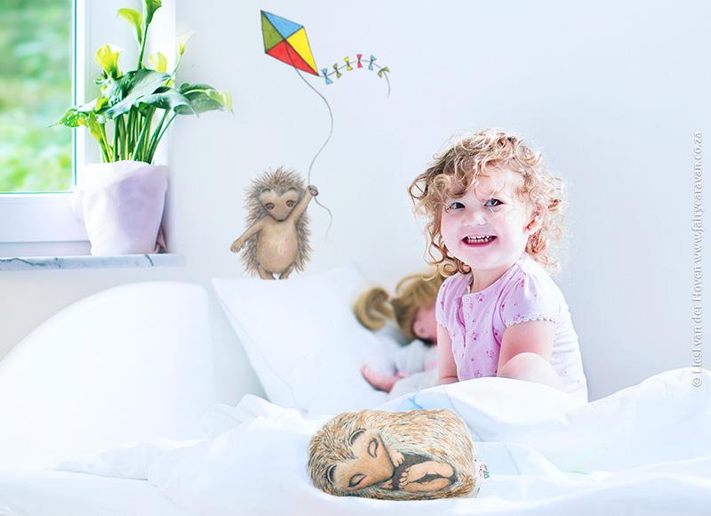Hedgehog Themed Kids Room - Fairy Caravan