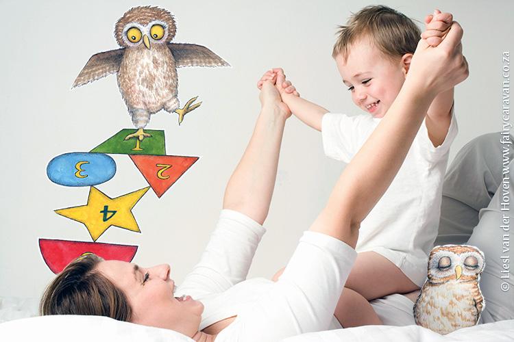 Owl Wall Decal - Fairy Caravan