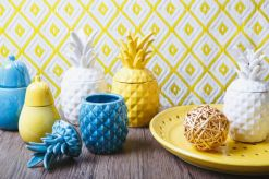Ceramic Pineapples | via http://thelifecreativeblog.com/decor-furniture/get-a-load-of-these-terracotta-treasures/