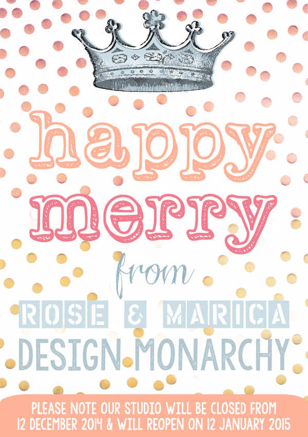 Season Greetings from Design Monarchy