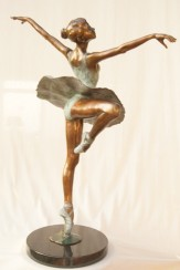 """""""Centre Point: Dancing Ballerina"""" by Llewellyn Davies 