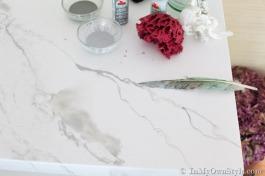 Faux-Marble-white-carrara-paint-finish