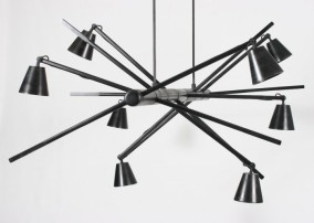 "Haywire Chandelier by David Krynauw | To vote for this object, SMS ""CHANDELIER 4 MBOISA"" to 40619."
