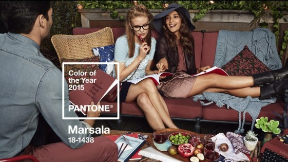 Pantone Color of the Year: Marsala