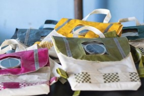 """Repurpose Schoolbag by Rethaka 