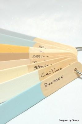 popsicle stick paint deck