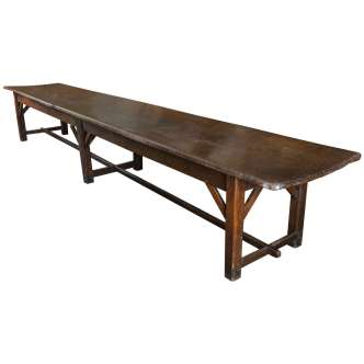 Décor Dictionary: Refectory Table