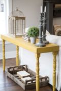 Décor Dictionary: Sofa Table