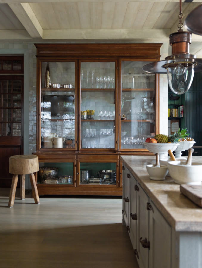 glass display cabinets in the kitchen the design tabloid
