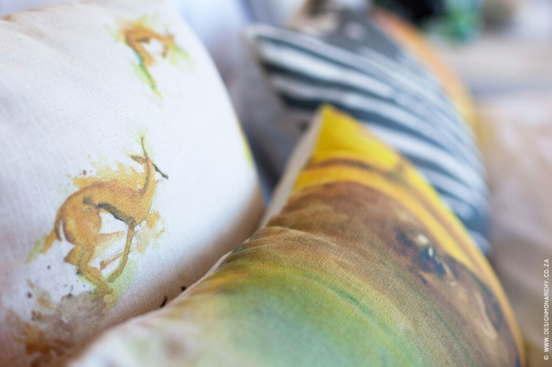 Watercolour Cushions Design Monarchy