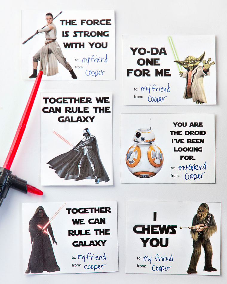 To DOWNLOAD this Free Valentine's Day Printable, please visit: http://www.yellowblissroad.com/printable-star-wars-valentines-day-cards/