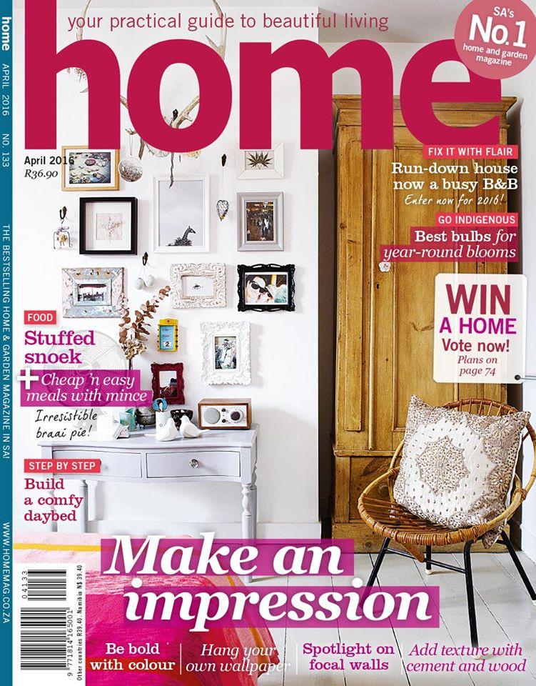 Home Magazine April 2016 Cover