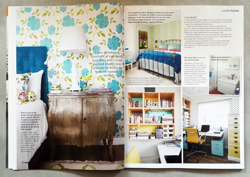 Magazine feature of house designed by Design Monarchy