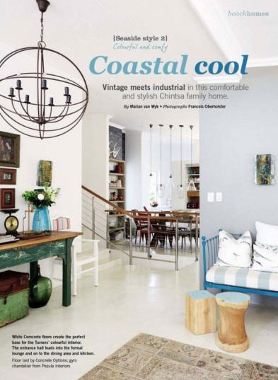 Magazine feature of interior design by Design Monarchy