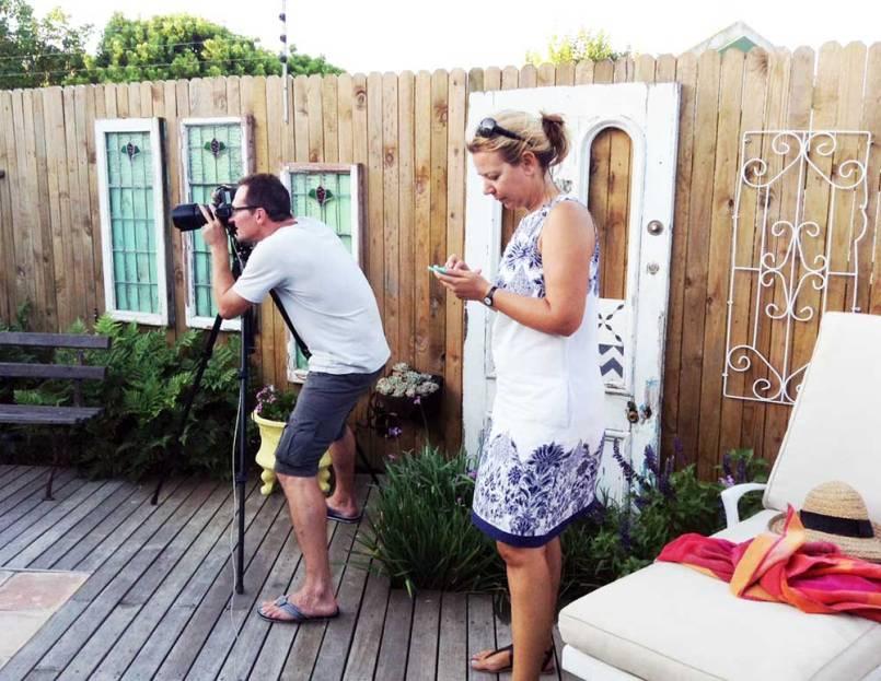 Home Magazine Photo Shoot