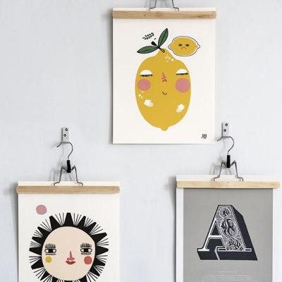 Clothes hanger art display