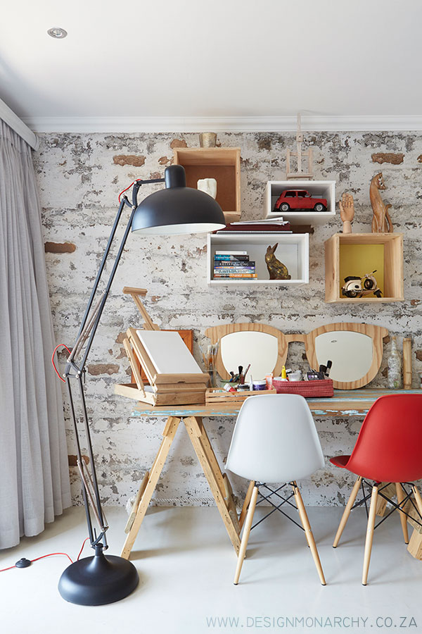 Quirky Workspace designed by Design Monarchy