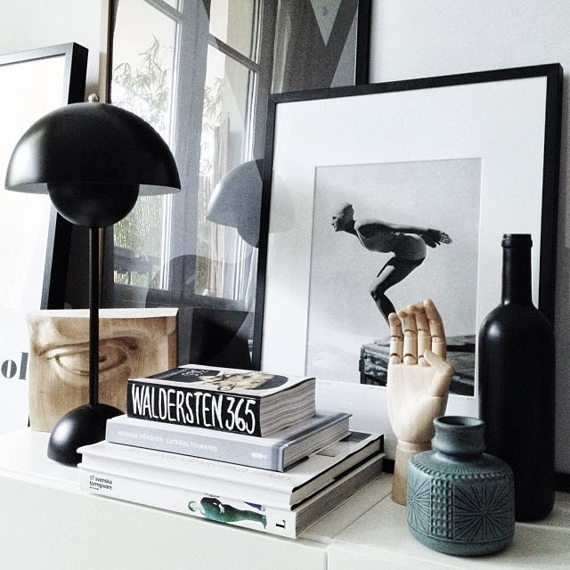 Vignette | Decor Trend: Black Metal Accessories