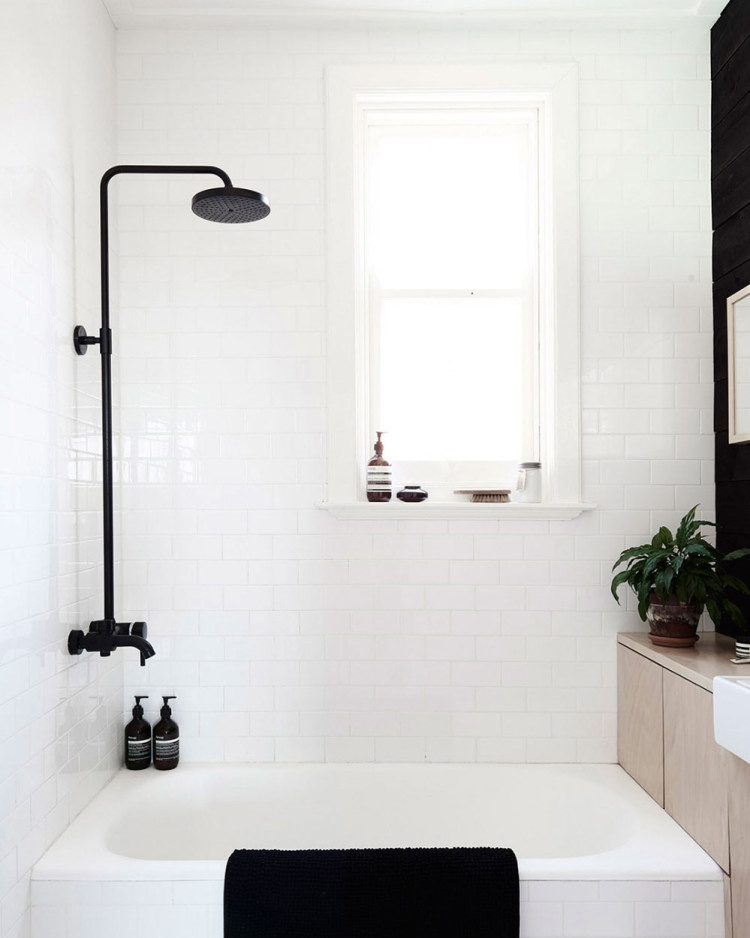 Black Bathroom Fixtures | Decor Trend: Black Metal Accessories