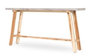 Concrete Top Console Table
