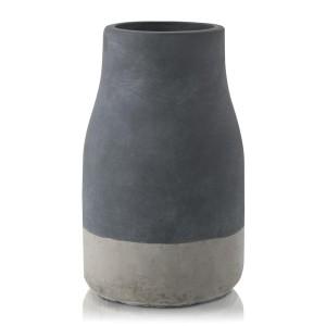 Two Tone Cement Vase