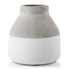 Two Tone Concrete Vase