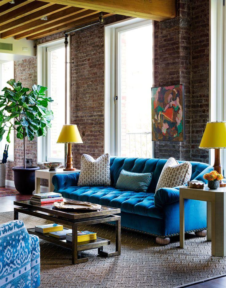 Velvet Sofa (1)
