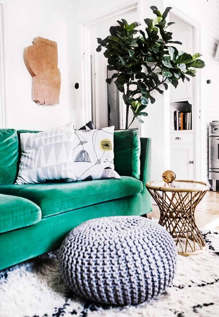 Velvet Sofa (3)