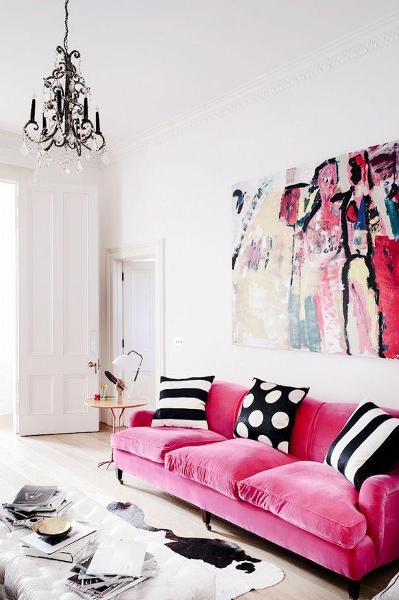 Velvet Sofa (4)