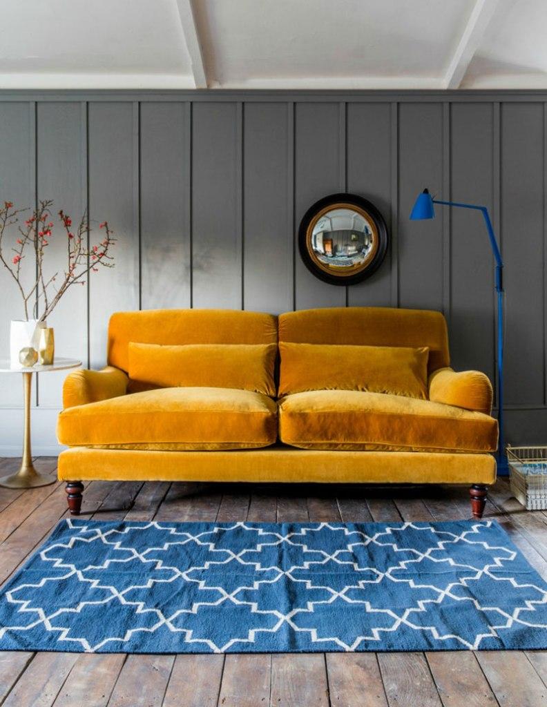 Velvet Sofa (9)