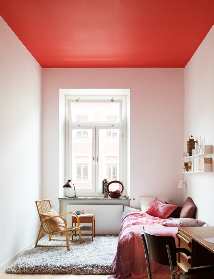 Bright Painted Ceiling