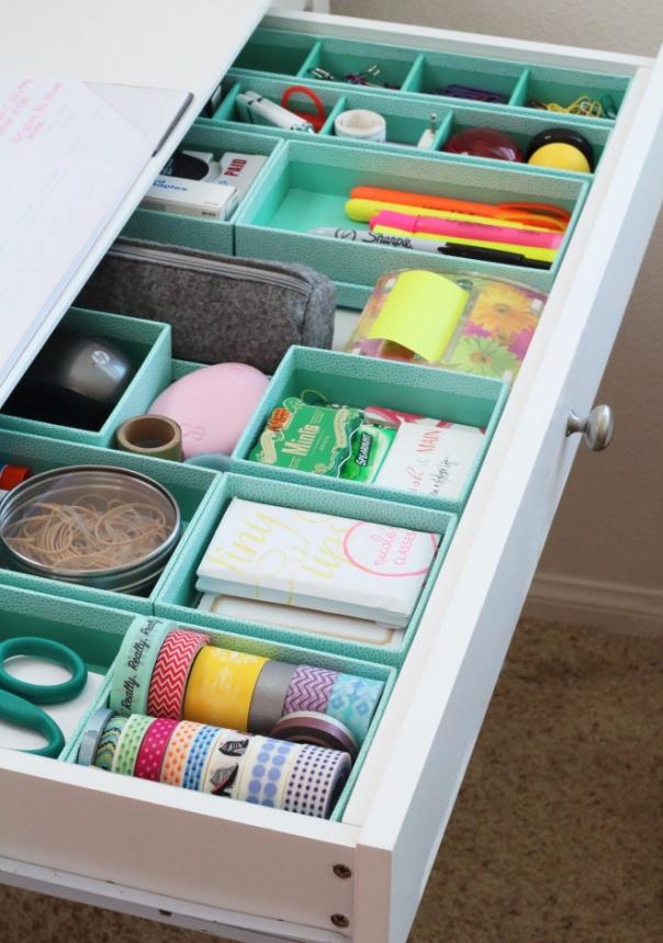 10 Hacks to Organise Your Kitchen: DIY Drawer Organizer