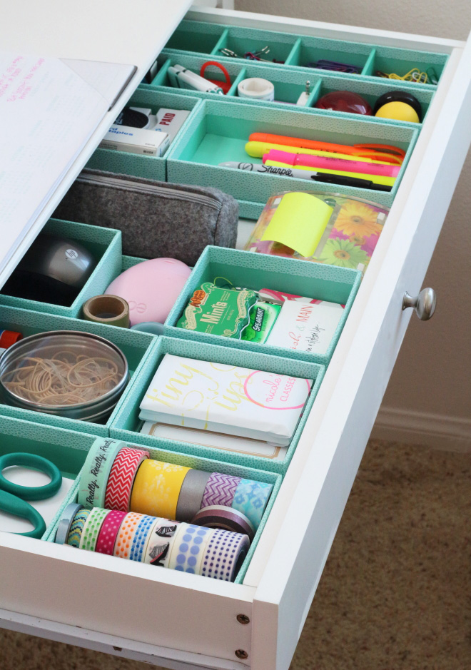 10 Hacks to Organise Your Kitchen: DIY Drawer Organizer