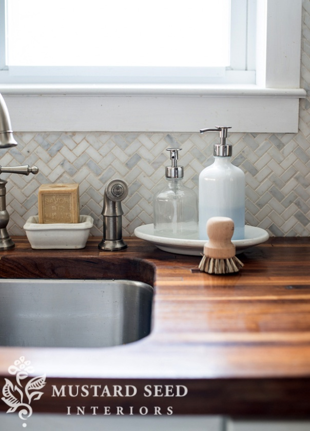 10 Hacks to Organise Your Kitchen: Stylish Dish Soap Dispenser