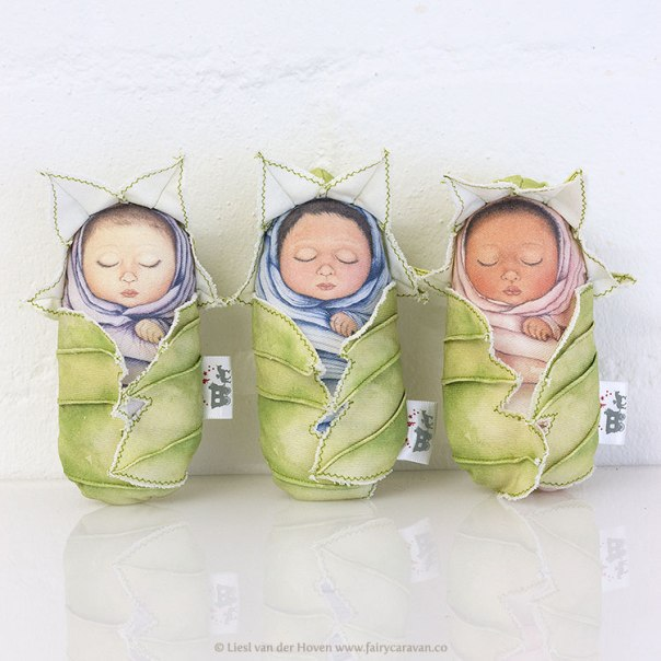 Fairy Caravan - Fairy Babies | via The Design Tabloid